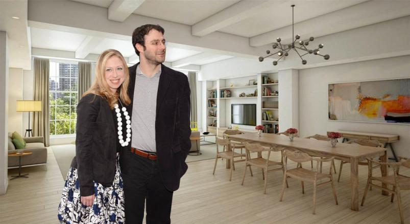 THE WHITMAN at 21 East 26th Street in chelsea clinton's NYC apartment