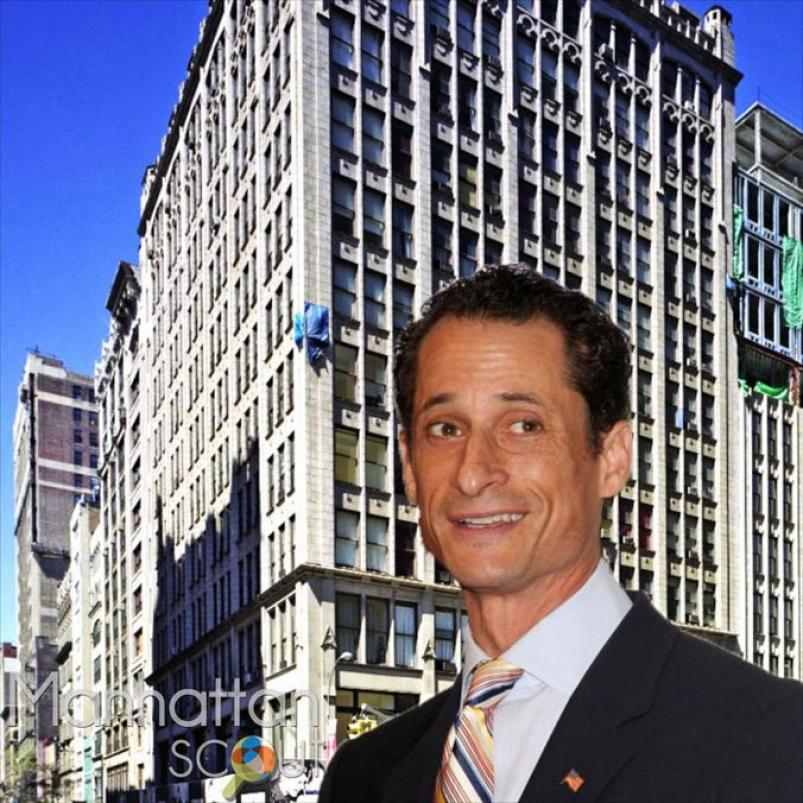 Weinergate Anthony Weiner and his new NYC Apartment