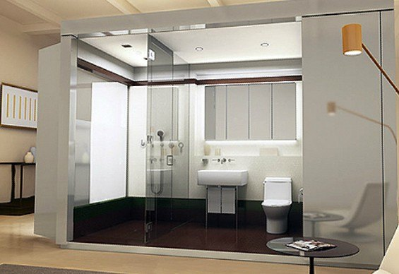 Jade nyc 16 west 19th st luxury apartments manhattan for Pod style bathroom