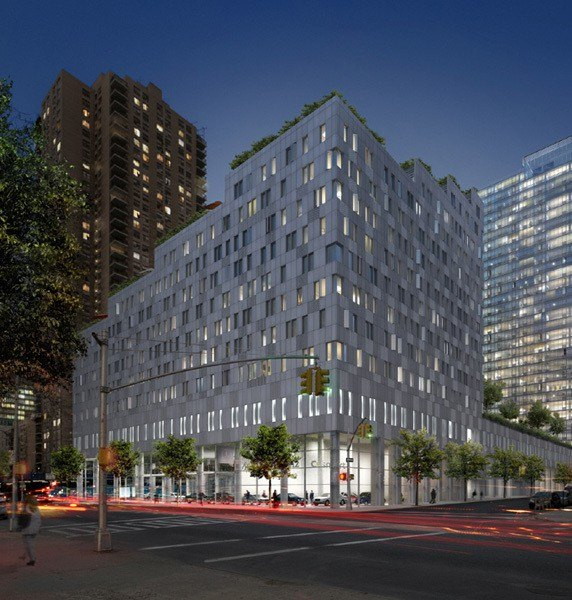 Rent Stabilized Apartments Nyc: Mercedes House At 555 West 53rd Street In Midtown West
