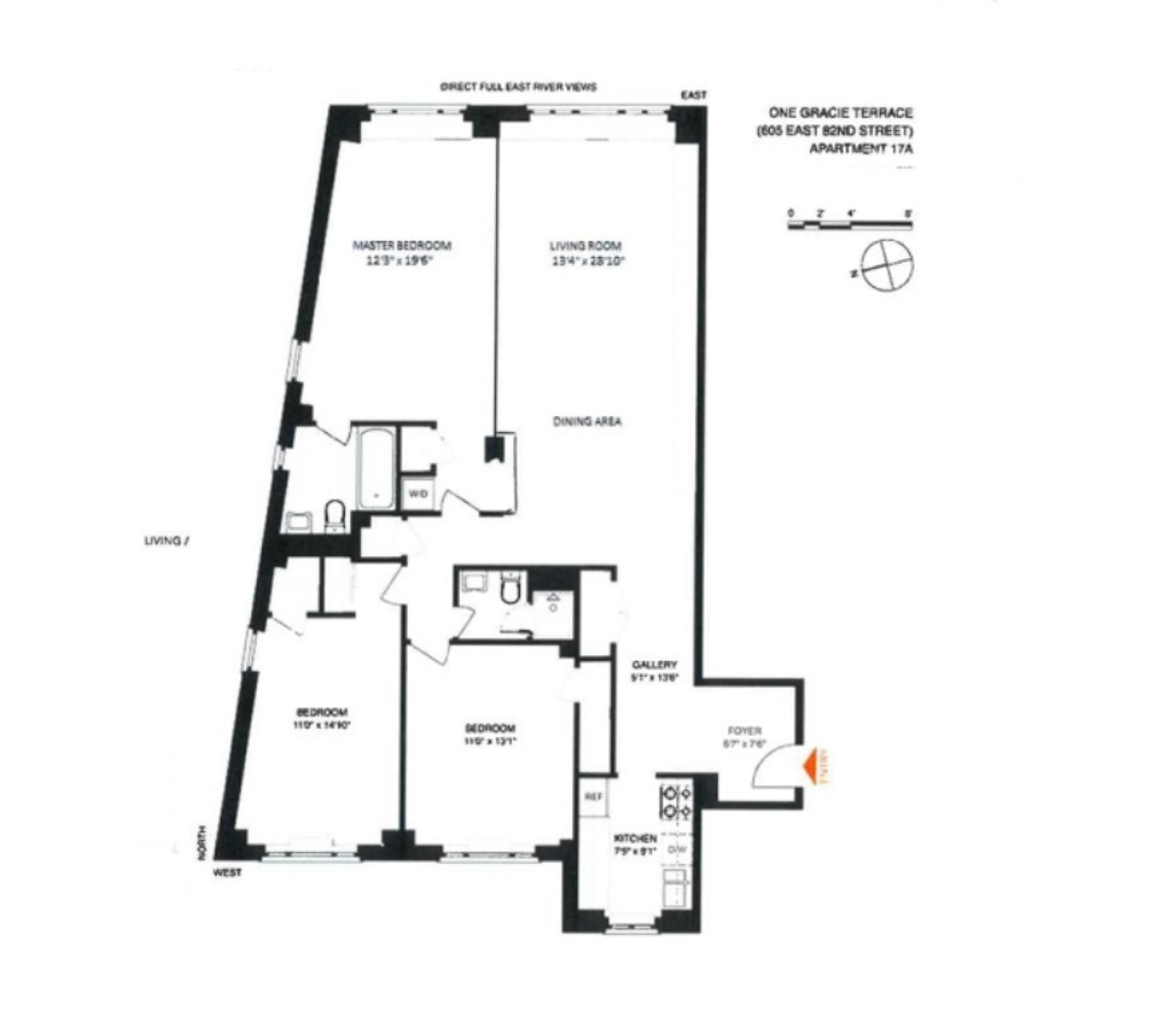 2 Bedroom Apt Floor Plans