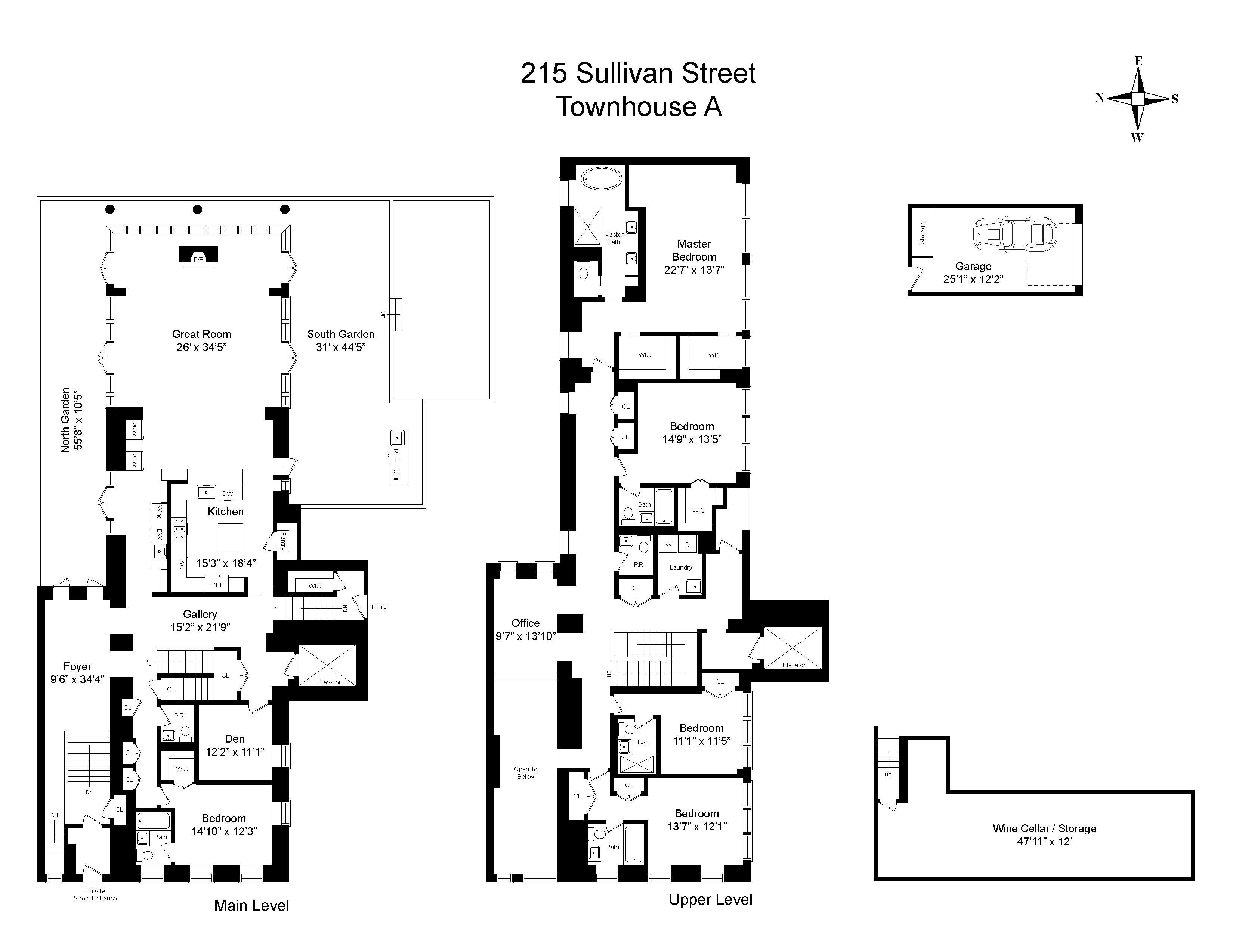 215 Sullivan Street In Greenwich Village Luxury