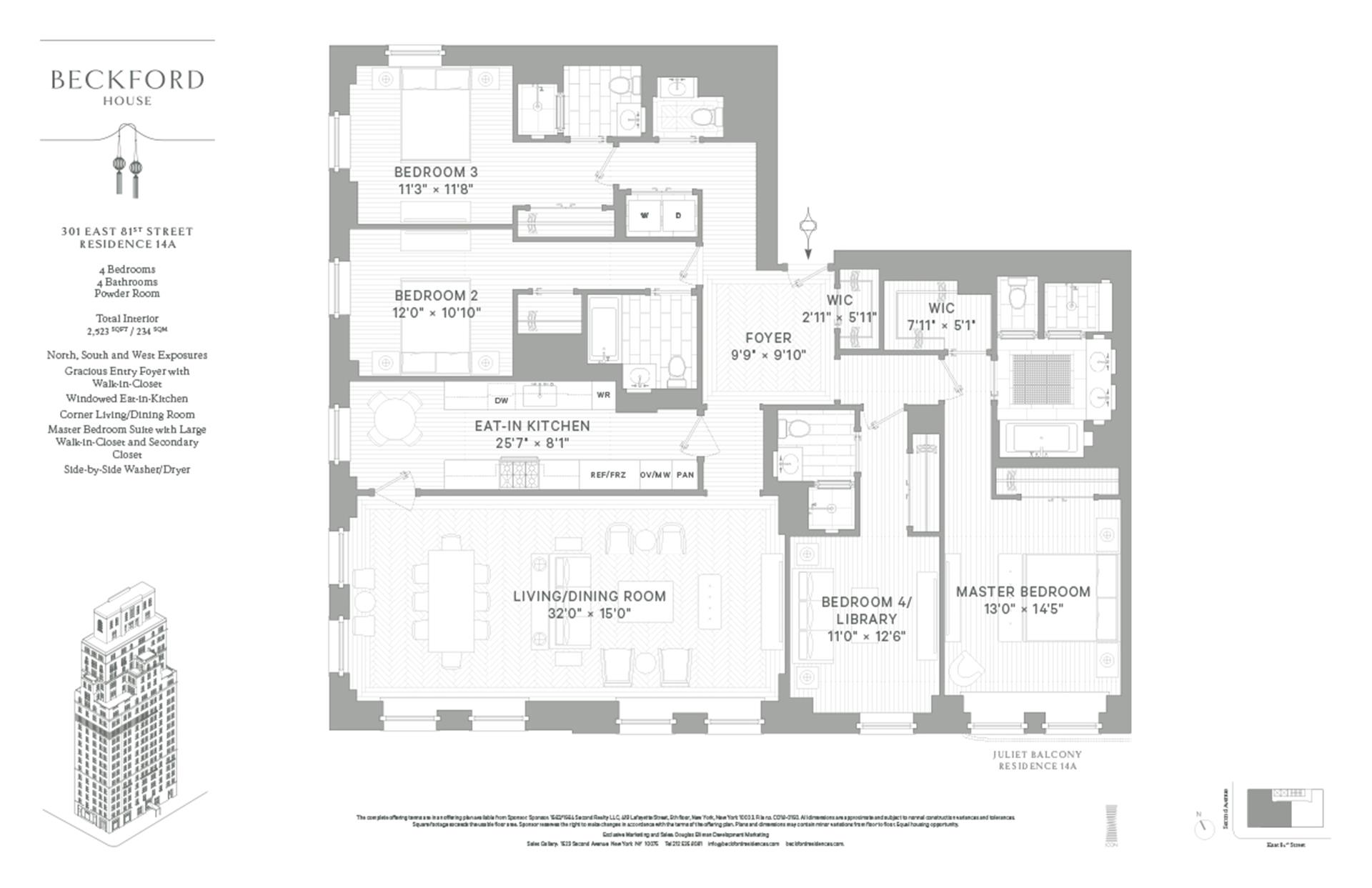 Beckford House At 301 East 81st Street In Upper East Side Luxury Apartments In Nyc Ny Nesting