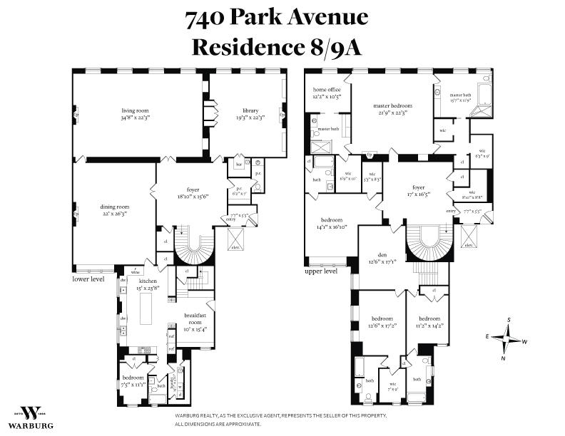 740 Park Avenue In Upper East Side Luxury Apartments In Nyc Ny
