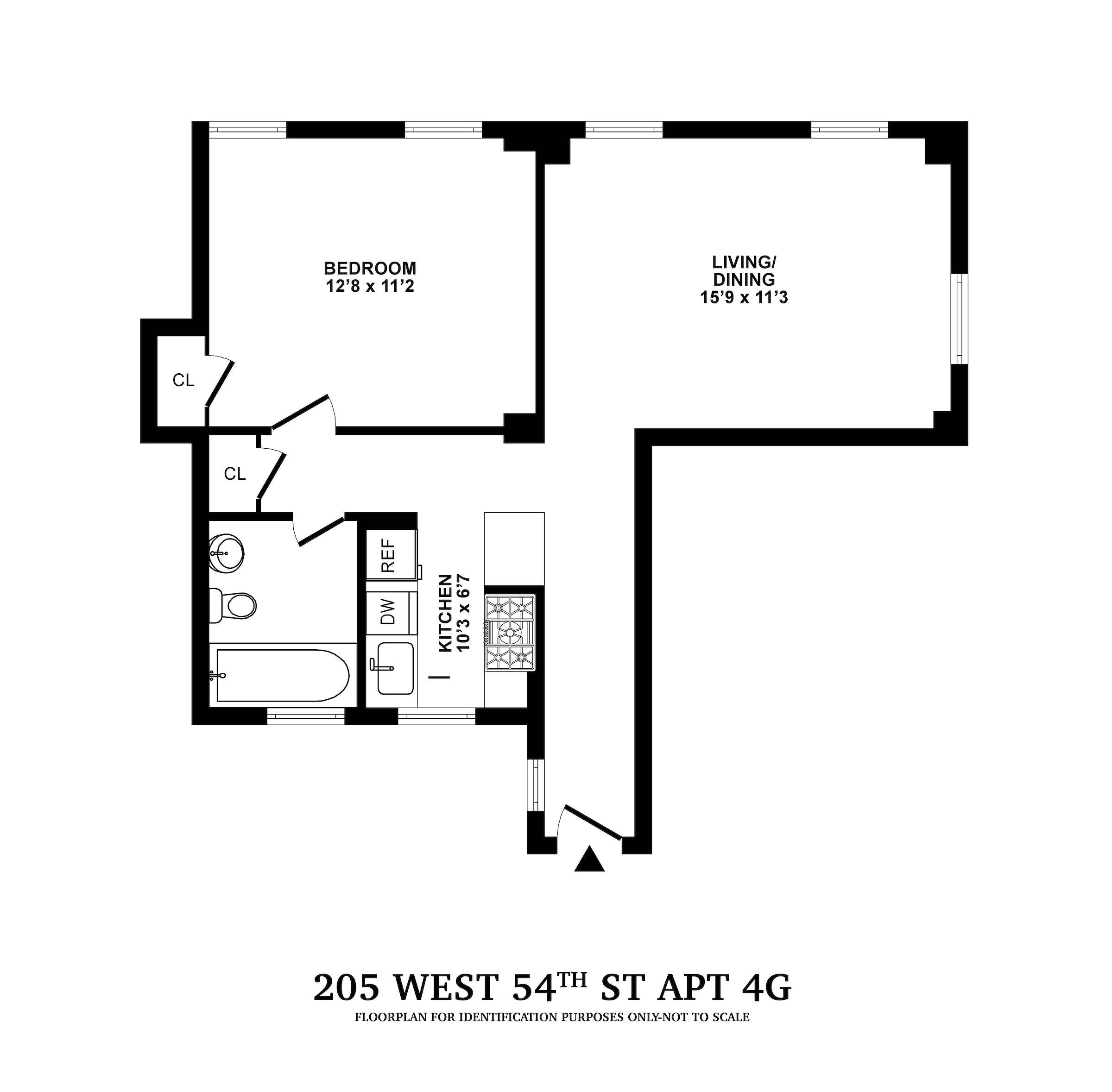 West 54th Apartments: Ablemarle At 205 West 54th Street In Midtown West / Hell's