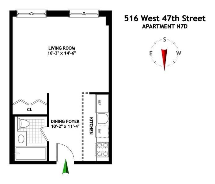 Be@Clinton West At 516 West 47th Street In Midtown West