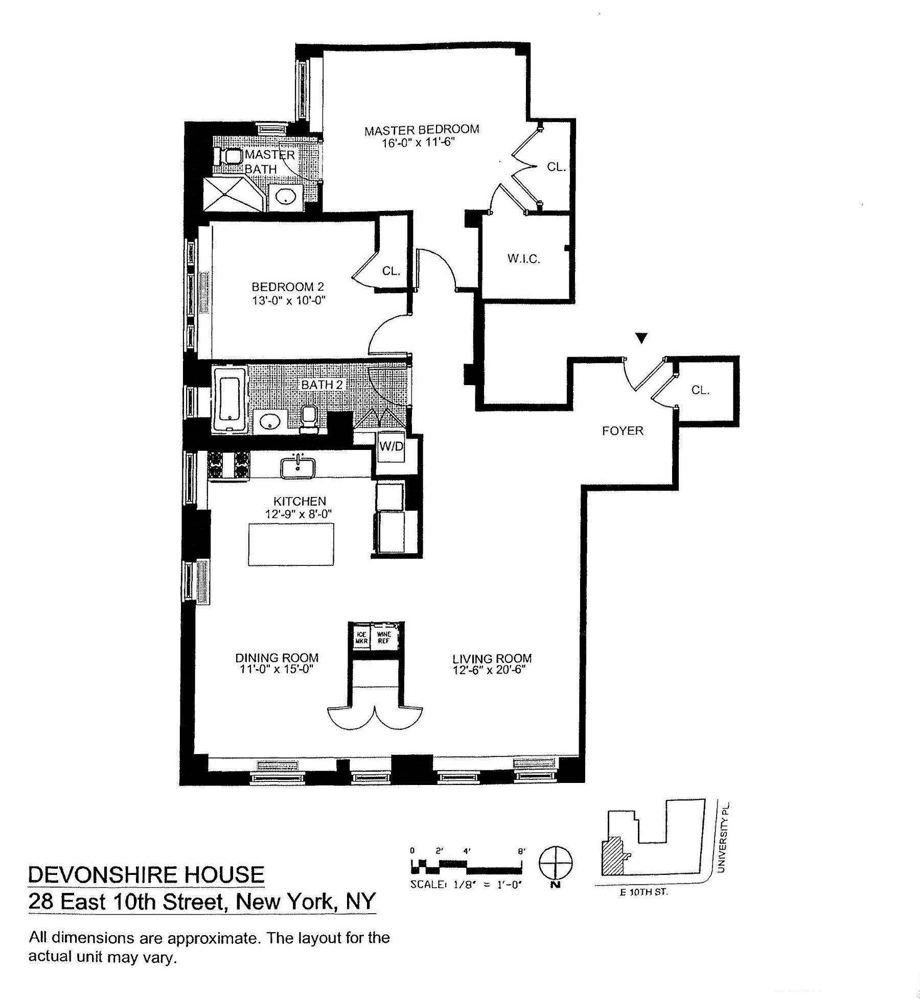 Devonshire house 28 east 10th st luxury apartments for Devonshire home design garden city ny