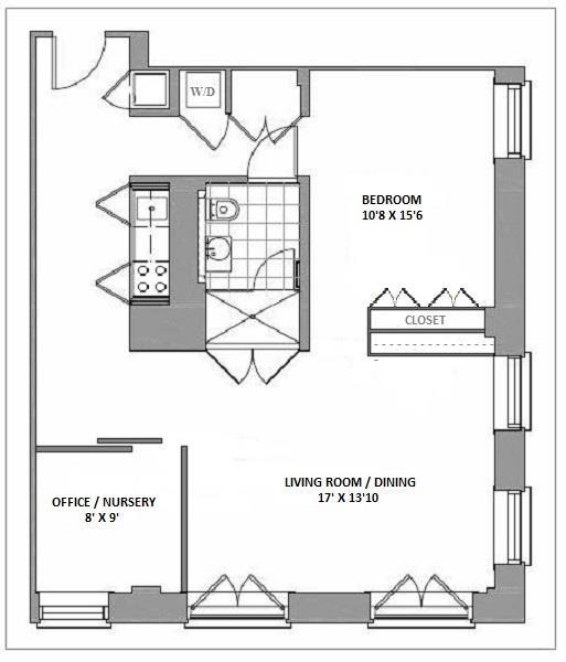 1 Bedroom Apartments Nyc: Jade NYC At 16 West 19th Street In Flatiron / NoMad