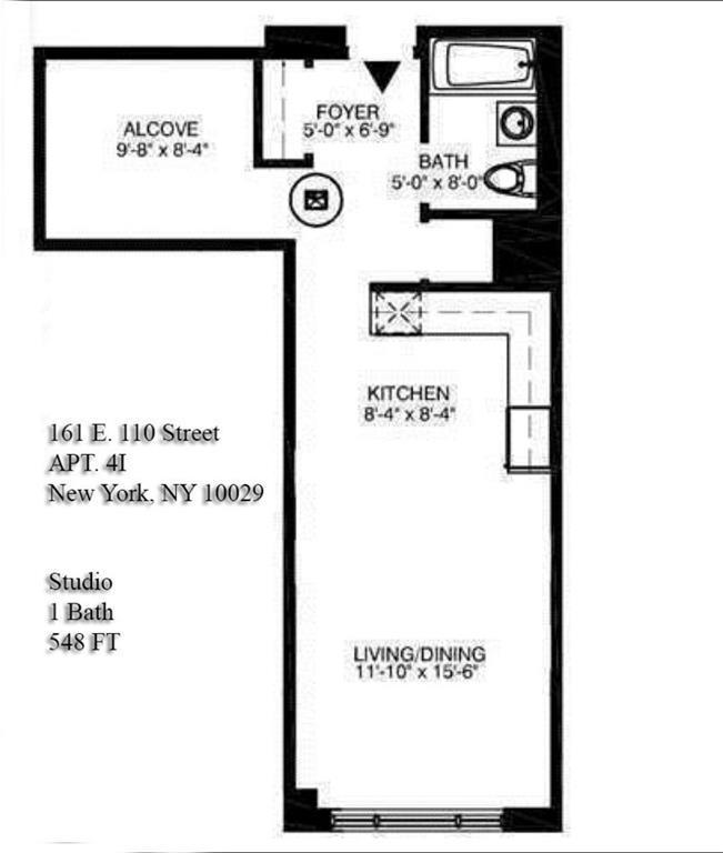 1 Bedroom Apartments Nyc: Mirada At 161 East 110th Street In Harlem