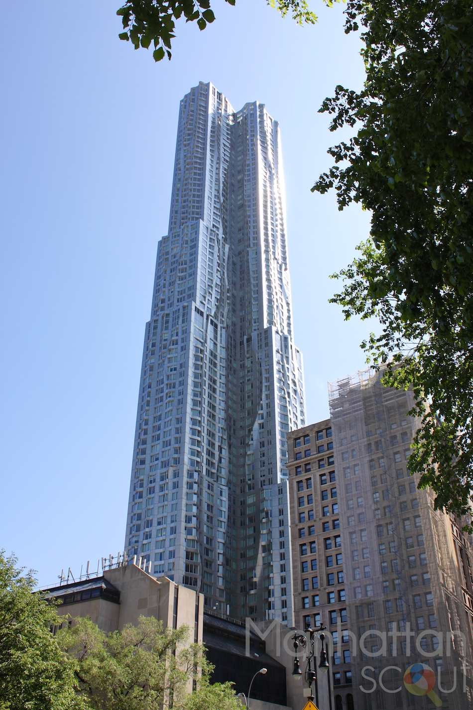 New York By Gehry At 8 Spruce Street In Financial District Luxury