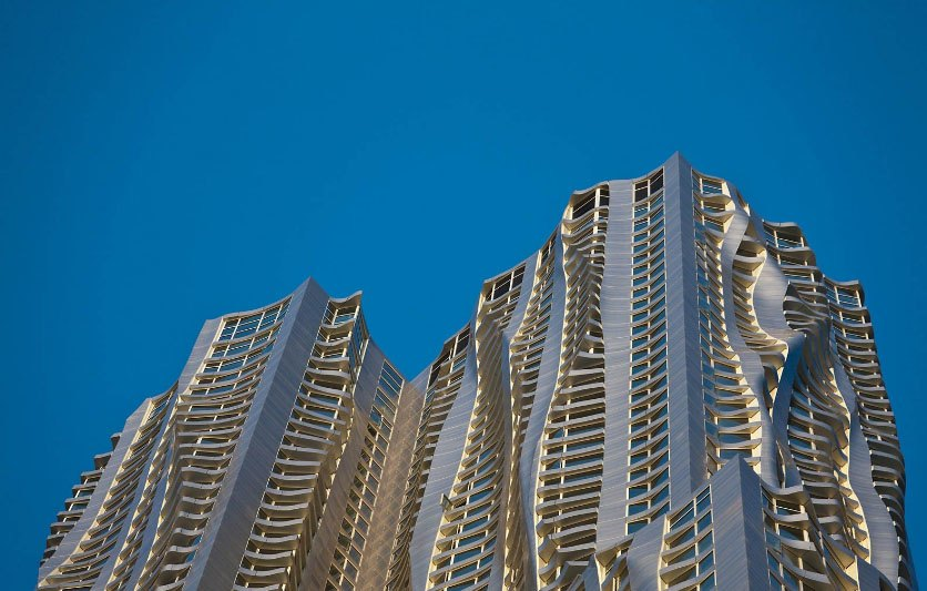 New york by gehry 8 spruce st apartments manhattan scout - 600 exterior street bronx ny 10451 ...