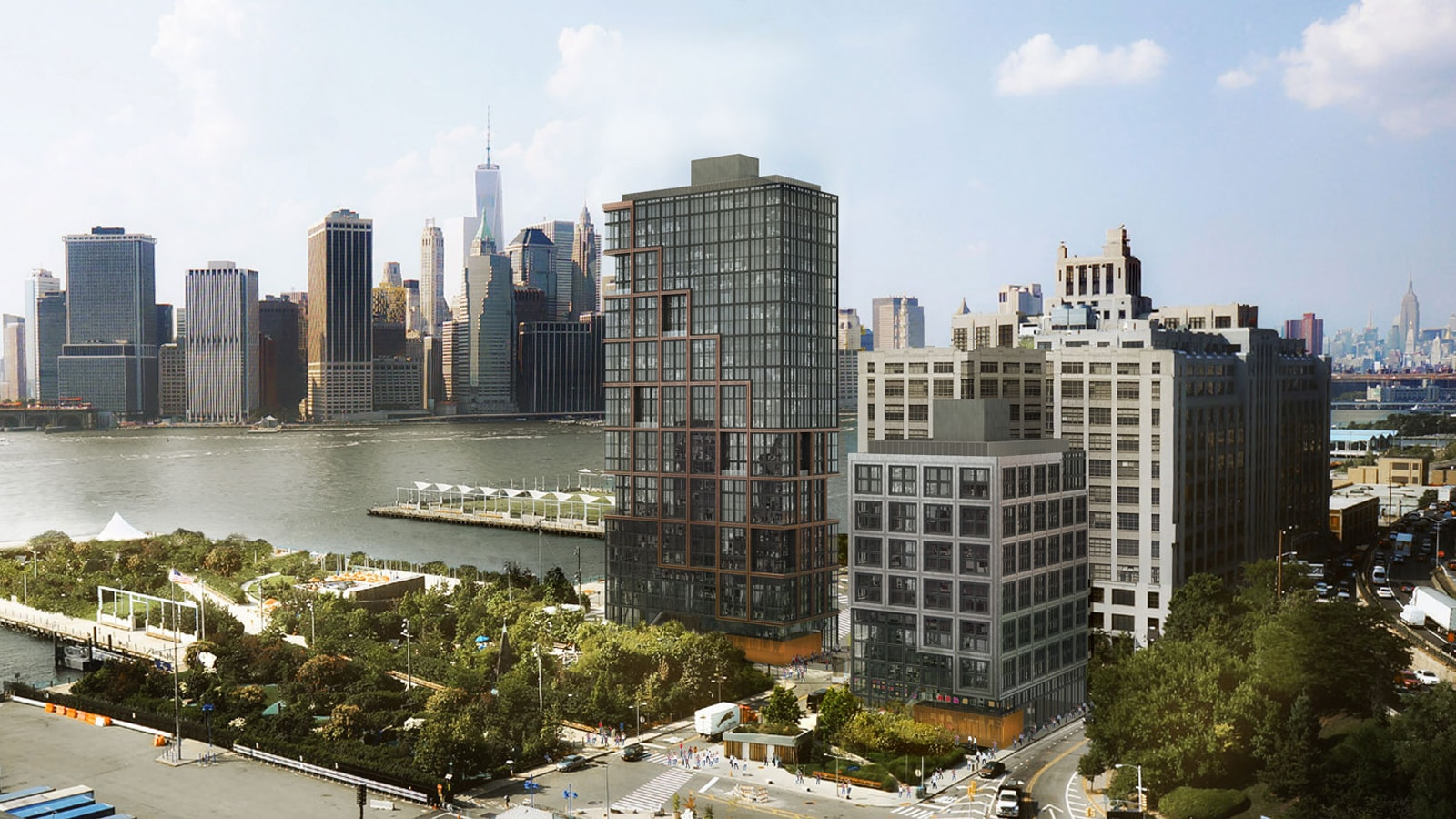 2 Bedroom Apartments For Rent In Brooklyn Quay Tower At 50 Bridge Park Drive In Brooklyn Luxury