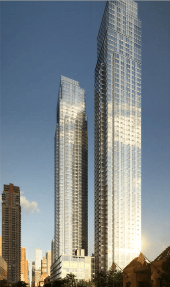 Silver Towers North And South Tower At 620 West 42nd