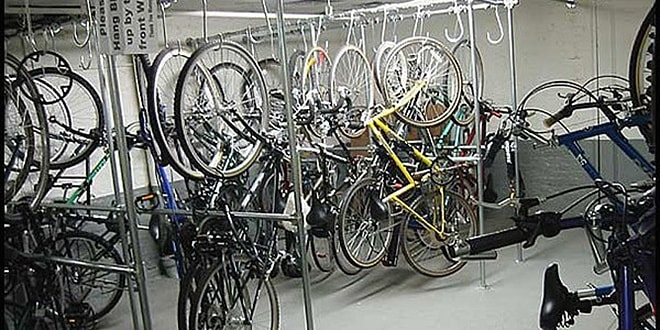 All nyc apartment buildings with bicycle storage manhattan scout - Small space bike storage decoration ...