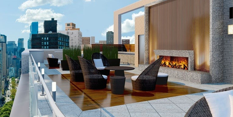 All NYC Apartment Buildings with - Fireplace | Manhattan Scout