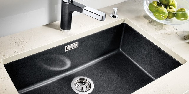 under mounted sink
