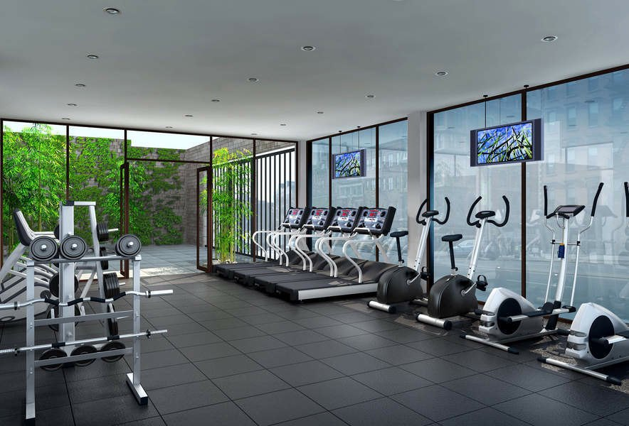 Fitness Center Construction : The copper building avenue b nyc manhattan scout