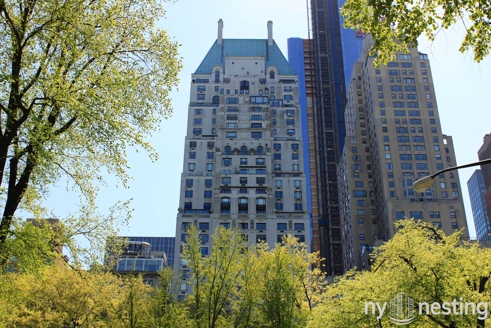 The Hampshire House 150 Central Park South Manhattan Scout