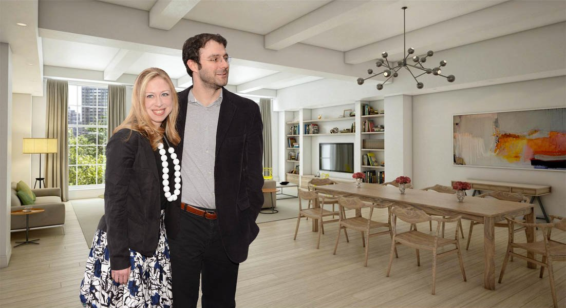 Beau Former First Daughter Chelsea Clinton Buys NYC Condo