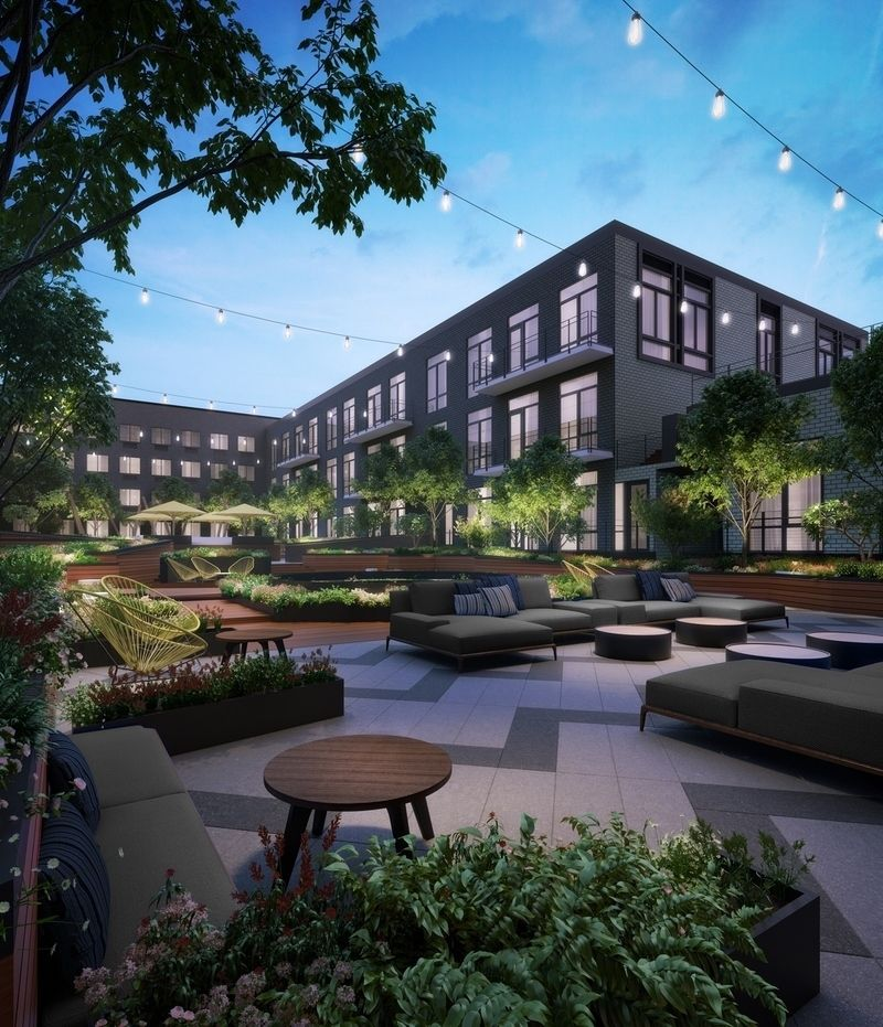 Village Green East Apartments: The Greenpoint At 21 India Street In Brooklyn
