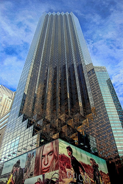 Trump tower midtown east manhattan scout
