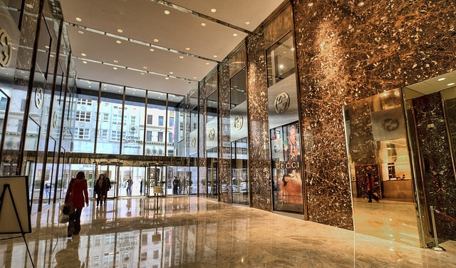 Trump Tower 721 Fifth Avenue Inside the Building