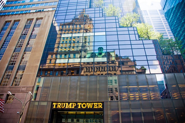 Trump Tower At 721 Fifth Avenue In Midtown East Luxury